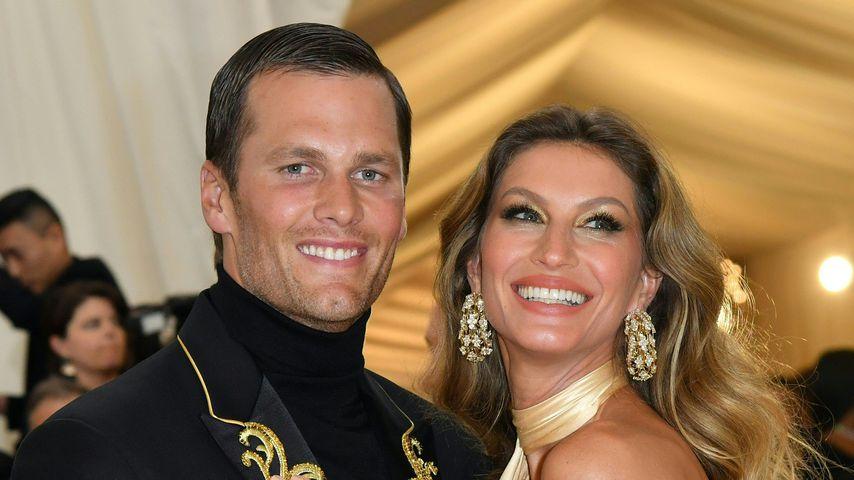 Tom Brady und Gisele Bündchen bei der Met Gala 2018