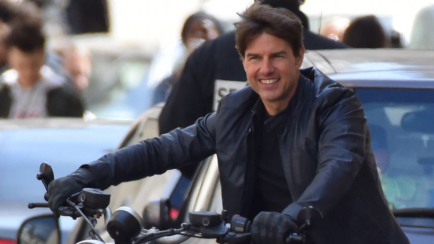 """Tom Cruise beim """"Mission: Impossible 6""""-Dreh in Paris"""
