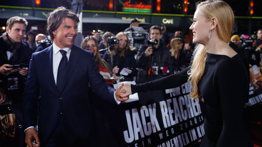 Tom Cruise und Danika Yarosh in Berlin