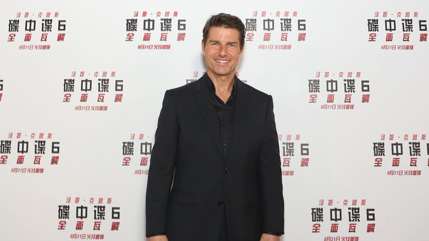 Schauspieler Tom Cruise in Peking, August 2018