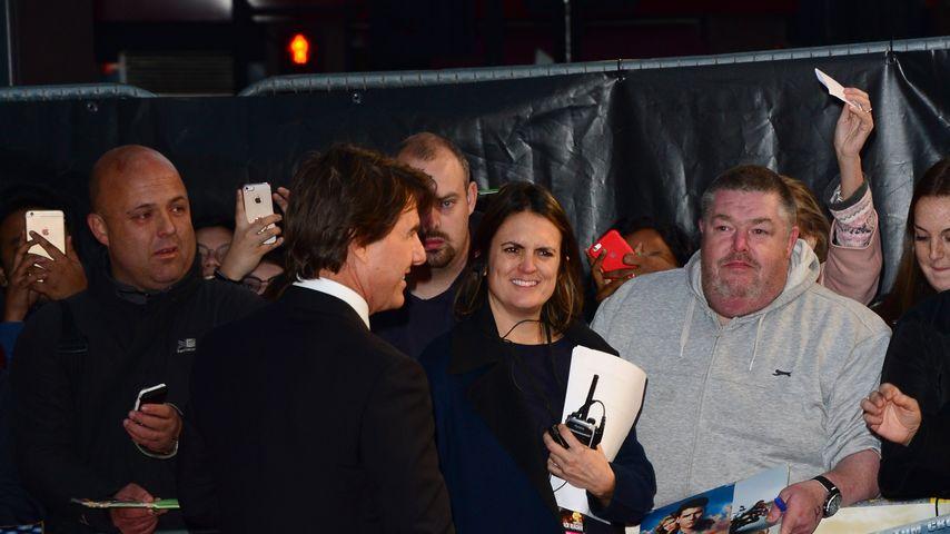 Tom Cruise bei seiner Filmpremiere