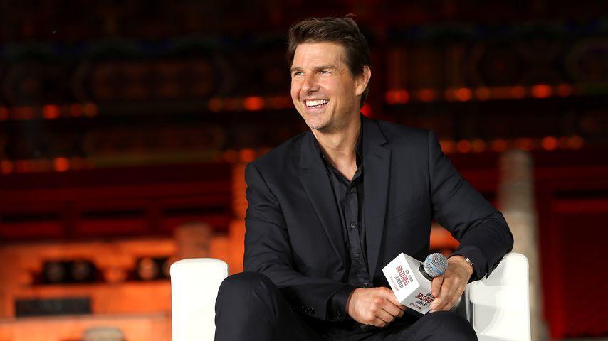 Tom Cruise bei einer Pressekonferenz