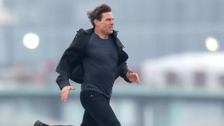 "Tom Cruise am Set von ""Mission: Impossible 6"""