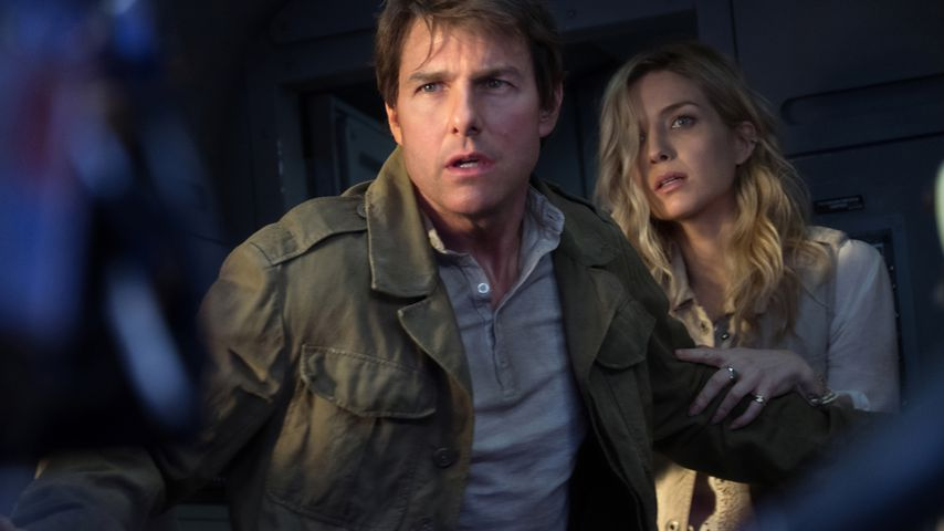 "Tom Cruise und Annabelle Wallis in ""Die Mumie"""