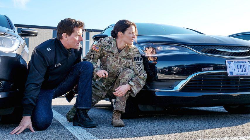 """Tom Cruise und Cobie Smulders in """"Jack Reacher 2"""""""
