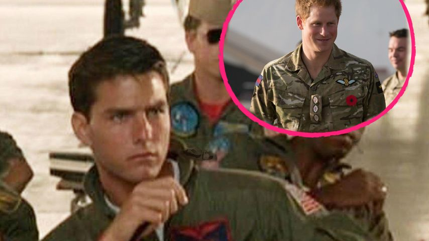 """Top Gun 2"": Tom Cruise will Prinz Harry ins Cockpit holen!"