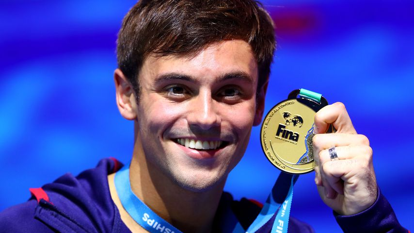 Tom Daley bei der Turmspring-WM in Budapest 2017