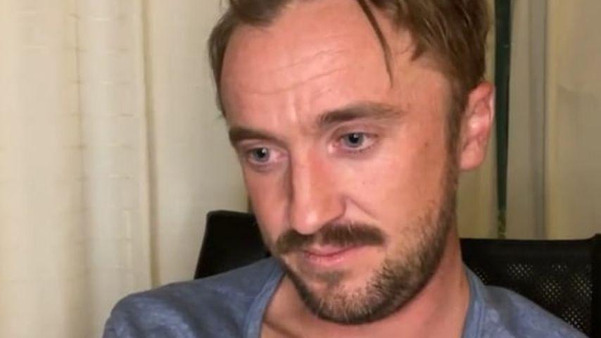 "Nach Kollaps: ""Harry Potter""-Star Tom Felton wirkt erschöpft"
