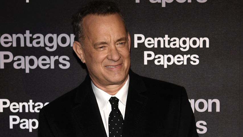 Tom Hanks in Paris im Januar 2018