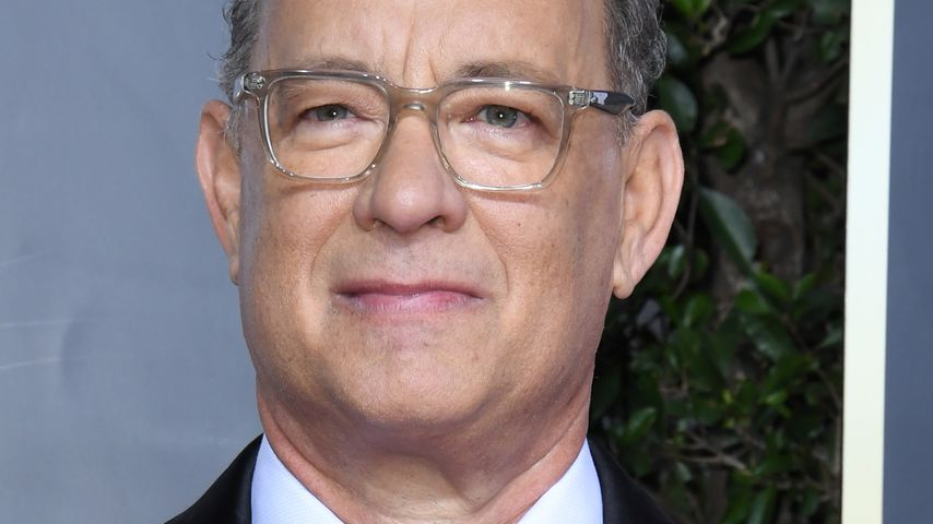 Tom Hanks bei den Golden Globes in Beverly Hills im Januar 2020