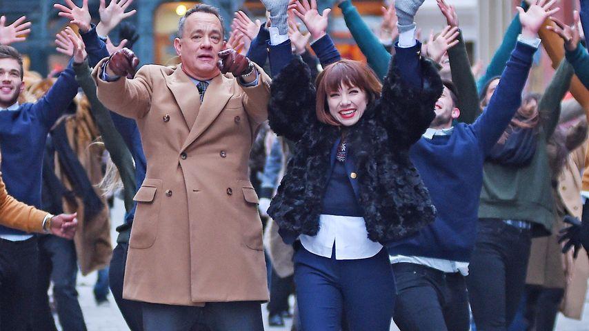 Tom Hanks und Carly Rae Jepsen