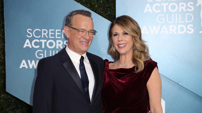 Tom Hanks und Rita Wilson bei den Screen Actors Guild Awards, 2020