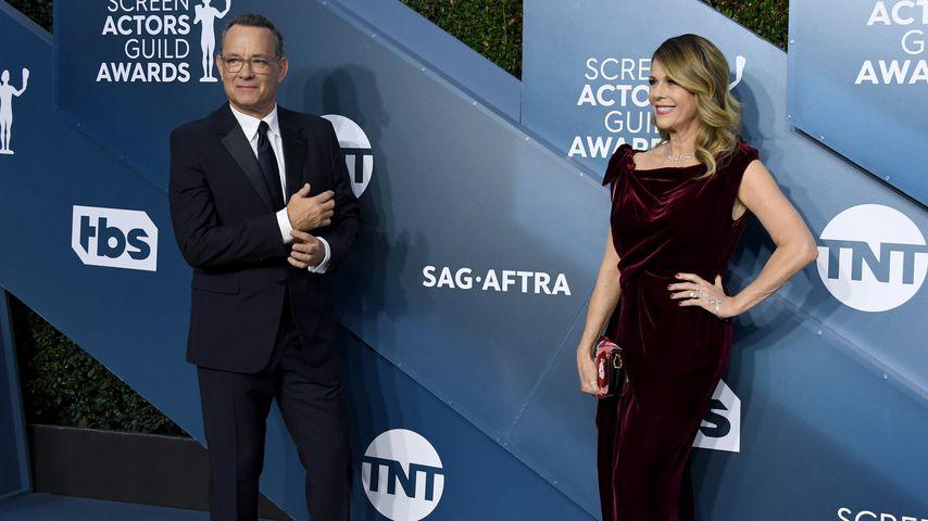 Tom Hanks und Rita Wilson im Januar 2020