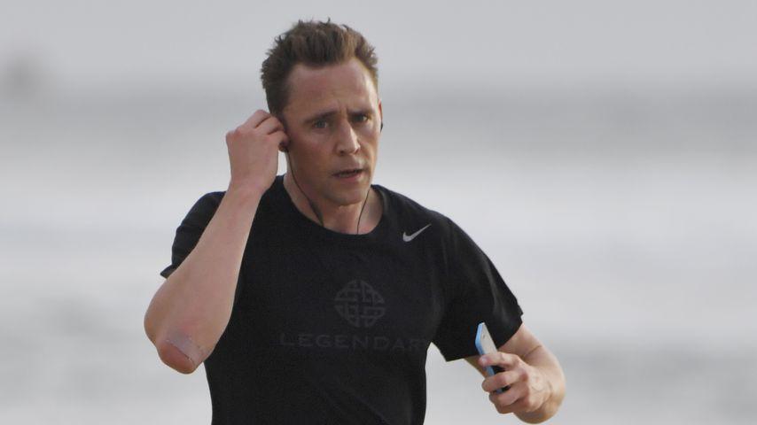 Tom Hiddleston in Broadbeach an der Gold Coast in Australien