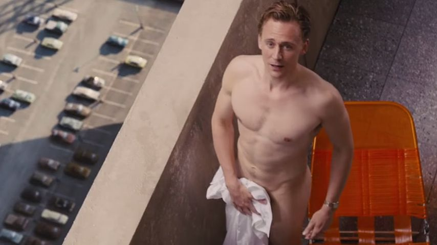 Nur eine Marketing-Strategie? Tom Hiddleston zieht blank!