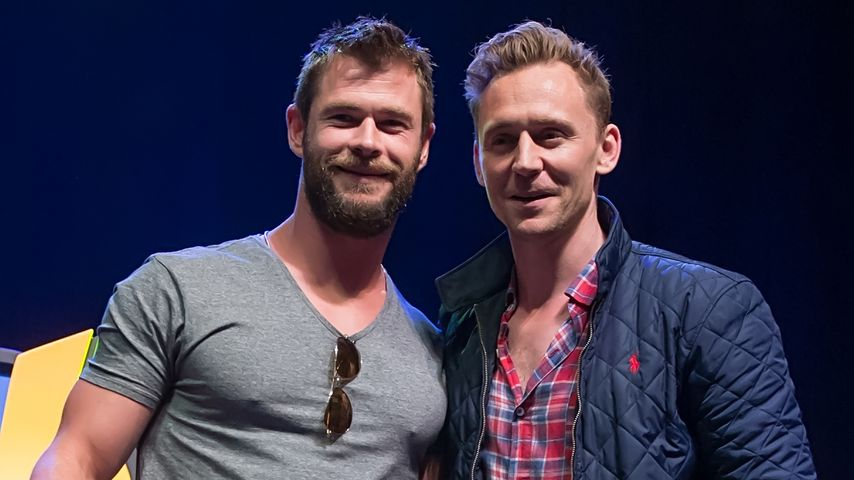Chris Hemsworth & Tom Hiddleston: Heiße Hollywood-Bromance!