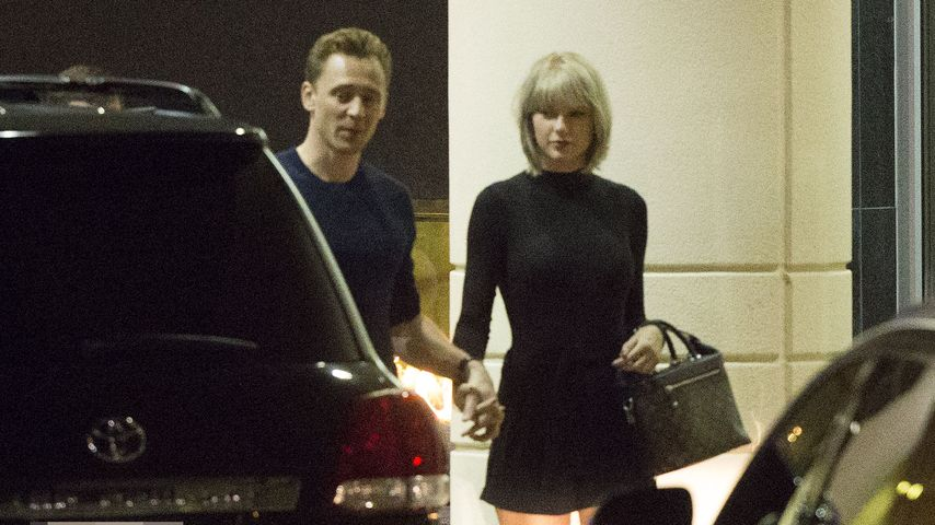 Hand in Hand: Hier turteln Tom Hiddleston & Taylor Swift!