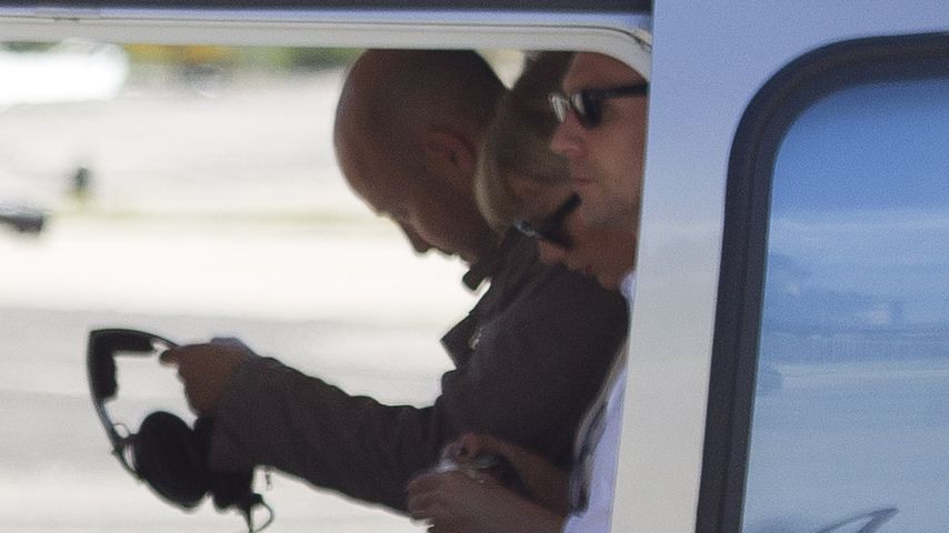 Filmreif! Taylor Swift & Lover Tom heben im Helikopter ab