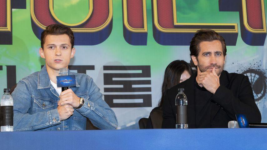 """Tom Holland und Jake Gyllenhaal, """"Spiderman: Far From Home""""-Darsteller"""