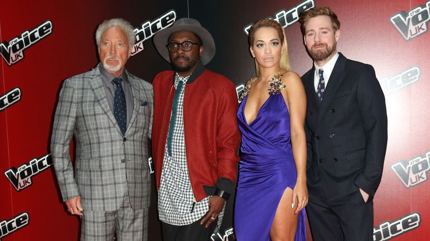 Rita Ora, Tom Jones und Will.i.am