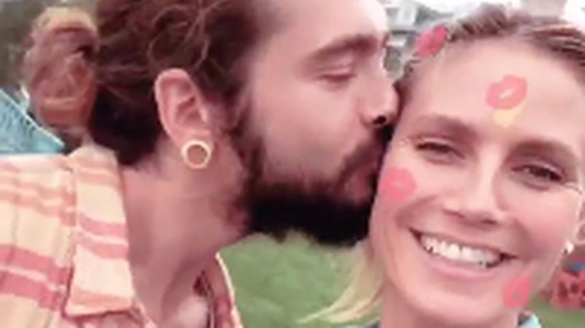 Tom Kaulitz und Heidi Klum bei der Geburtstagsfeier von Lou
