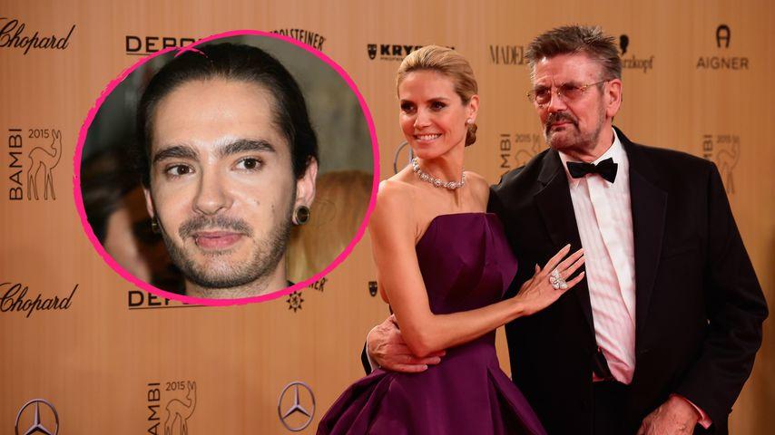 Plaudern mit Heidis Papa: Tom Kaulitz in Familie aufgenommen