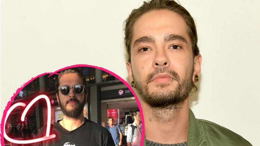 Süßer Liebesbeweis: Tom Kaulitz trägt Shirt mit seiner Heidi