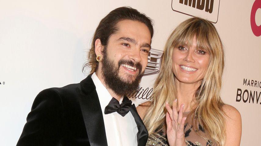Facetime mit ihrem Tom: Hier lacht sich Heidi Klum schlapp!