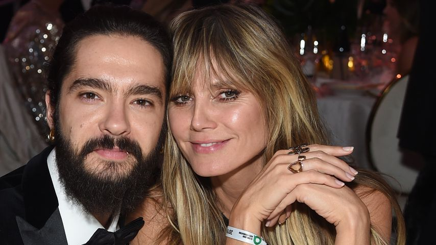 Tom Kaulitz und Heidi Klum bei Elton Johns Oscar-Party