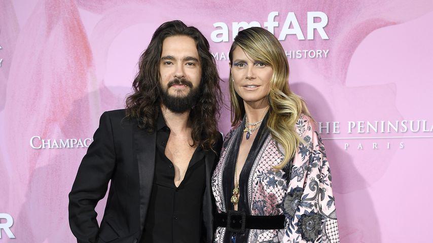 Tom Kaulitz und Heidi Klum bei der amfAR Gala in Paris, Juni 2019