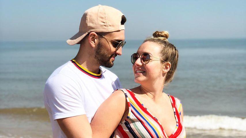 Tom Parker und Kelsey Hardwick  im April 2019