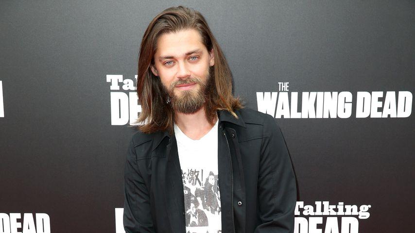 """Tom Payne bei """"Talking Dead Live"""" für die AMC Premiere von """"The Walking Dead"""", Hollywood, 2016"""