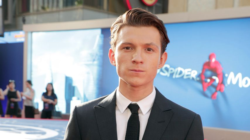 "Tom Holland bei der ""Spiderman: Homecoming""-Premiere"