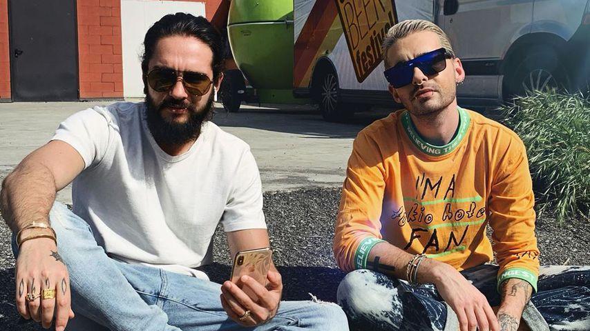 Tom und Bill Kaulitz im Mai 2019 in Italien