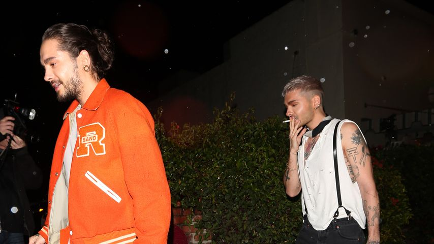 Tom und Bill Kaulitz in West Hollywood