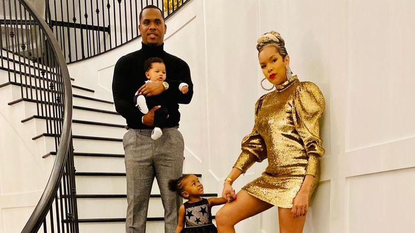 Tommicus Walker, LeToya Luckett und ihre zwei Kinder
