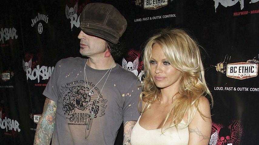 Tommy Lee und Pamela Anderson, 2005