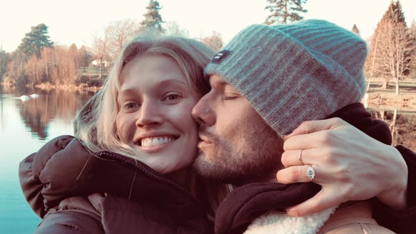 Toni Garrn und Alexander Pettyfer, Dezember 2019