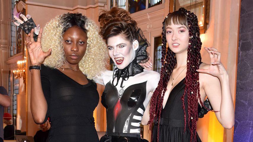 """Die GNTM-Girls Toni, Klaudia und Sally bei der """"Tanz der Vampire""""-Premiere"""