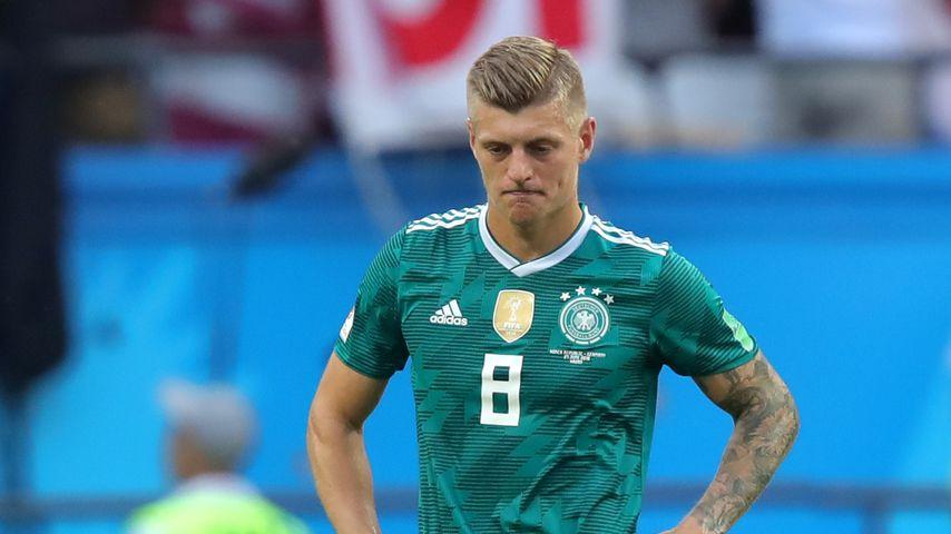 Toni Kroos nach dem Abpfiff des dritten WM-Spiels