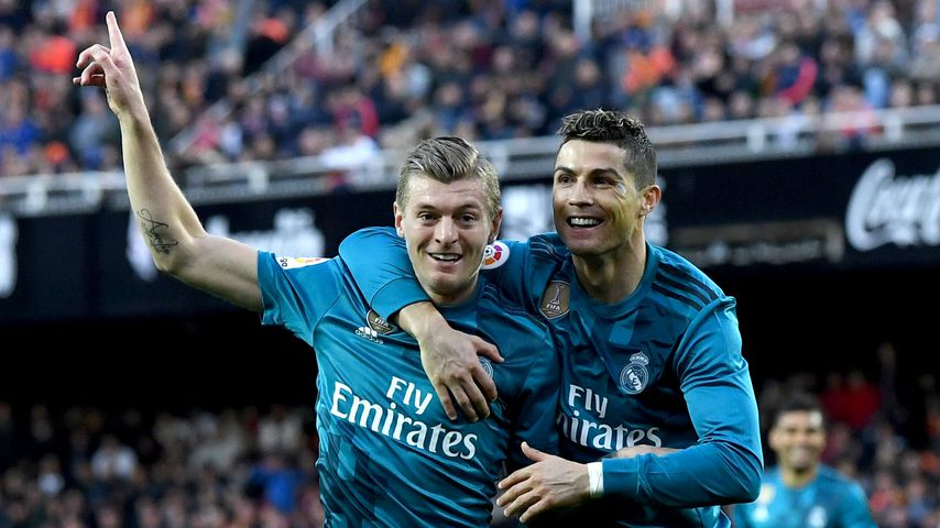 Toni Kroos und Christiano Ronaldo, Real-Madrid-Spieler