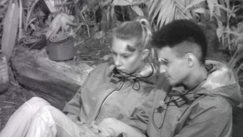 Toni Trips und Prince Damien im Dschungelcamp 2020