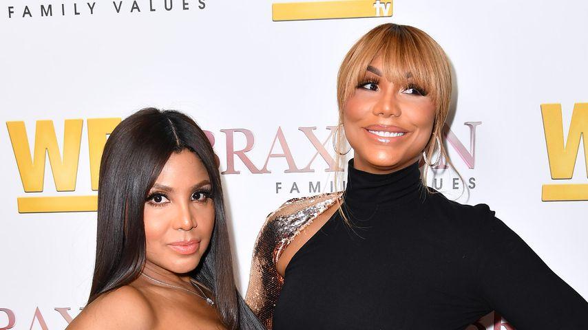 """Toni und Tamar Braxton bei der Premiere von """"Braxton Family Values"""""""