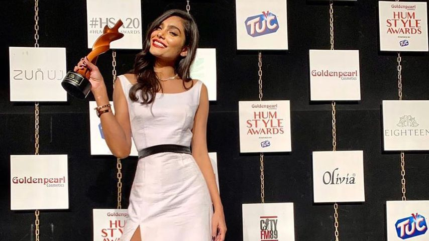 Zara Abid bei den Hum Style Awards 2020