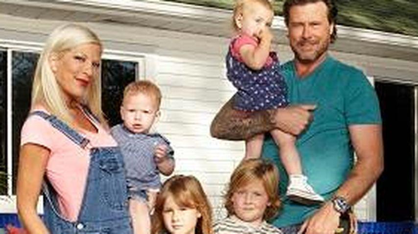 Tori Spelling und Dean McDermott mit ihren Kinders