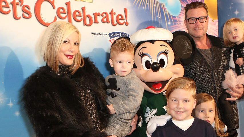 "Tori Spelling: Familienausflug zu ""Disney on Ice"""