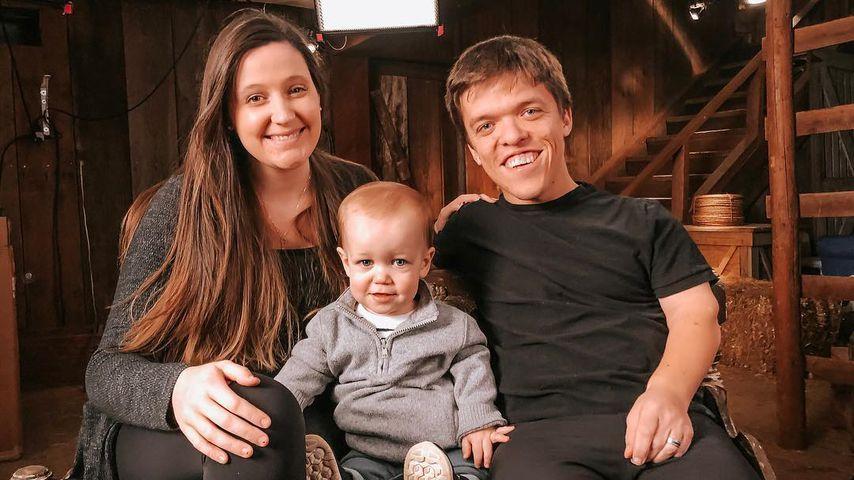 Tori und Zach Roloff mit ihrem Sohn