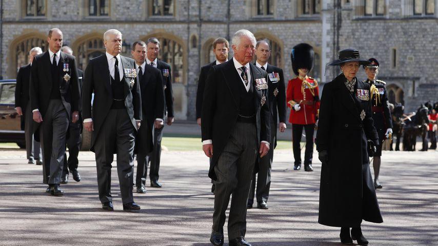 Trauerzug der Royals für den verstorbenen Prinz Philip