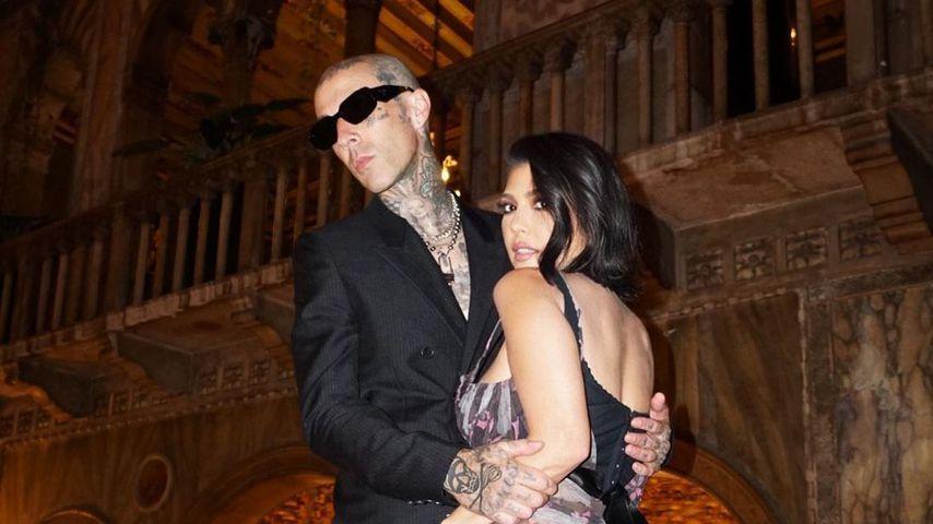 Travis Barker und Kourtney Kardashian in Italien