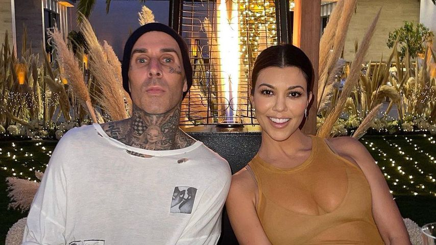 Travis Barker und Kourtney Kardashian